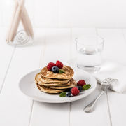 Exante Diet Blueberry & Raspberry Pancakes