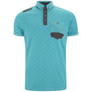Smith & Jones Men's Coronation Polo Shirt - Turquoise