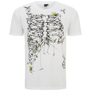 McQ Alexander McQueen Men's Dropped Shoulder Ribcage T-Shirt - Optic White
