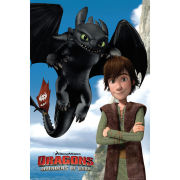 Dragons Toothless - Maxi Poster - 61 x 91.5cm