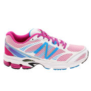 New Balance Women's Fitness W660Pl4 Trainers - White/Pink