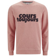 Lacoste L!ve Men's 'Keep Trying' Sweatshirt - Pink