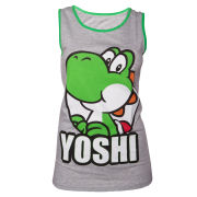 Yoshi Girls Tank Top - Grey/Green