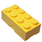 LEGO Lunch Storage Box - Yellow