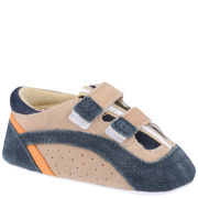 PlayShoes Suede Baby Shoes - Navy
