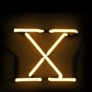 Seletti Neon Letter X