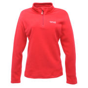 Regatta Women's Sweetheart Half Zip Fleece Top - Virtual Pink