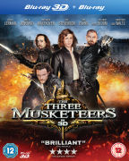 The Three Musketeers 3D (Bevat 3D en 2D Copy)