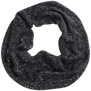 Codello Women's Winter Wonderland Knitted Loop Scarf with Silver Pigment - Light Grey
