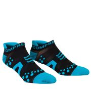 Compressport Pro Racing Socks - Run (Lowcut) - Black/Blue