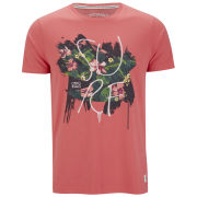 Jack & Jones Mens Rose T-Shirt - Spiced Coral