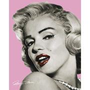 Marilyn Monroe Pink Lips - Mini Poster - 40 x 50cm