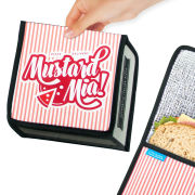 Fast Food Pizza Box - Insulated Sandwich Bag