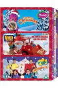 Bob The Builder Triple (Night Before Christmas / Bob's White Christmas / Santa's Rockin)