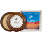 Crabtree & Evelyn For Men Nomad Shave Soap In Wooden Bowl (100G)