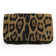 Jerome Dreyfuss Bobi Leopard Print Ponyskin Cross Body Bag - Leopard