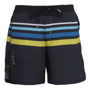 Zoot Run 101 6 Inch Shorts - Black/Yellow/Blue