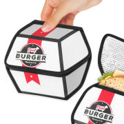 Fast Food Burger Box - Insulated Sandwich Bag