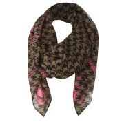 Codello Poetry Grunge Dogstooth Scarf