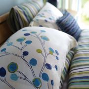 Scion Berry Tree Pillowcase - Lagoon