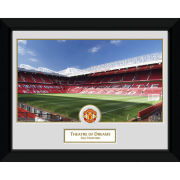 """Manchester United Old Trafford - 8"""""""" x 6"""""""" Framed Photographic"""