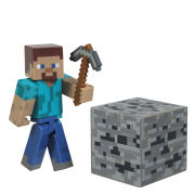 Minecraft 3 Inch Action Figure - Steve