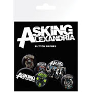 Asking Alexandria Graphics - Badge Pack
