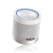 Veho Portable 360 Bluetooth Speaker with Micro SD and Volume/Track Control. 2x 2.2W - White