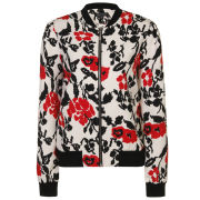 Girls On Film Women's Floral Bomber Jacket - Multi