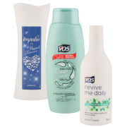 Women's Gym Pack (Impulse Shower Gel, VO5 Shampoo and Revive Me Daily Conditioner)