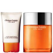 Clinique For Men Happy Duo (50ml Spray, Aftershave Balm)