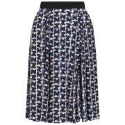 Orla Kiely Women's Skirt - Indigo
