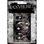 Black Veil Brides Group Landscape - Vinyl Sticker - 10 x 15cm