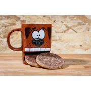 Brew Buddies Dog Mug - Brown