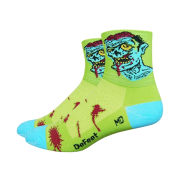 DeFeet Aireator Zombie Socks - Green