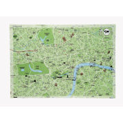 Seletti World Dinner Maps - Roll of 50 Paper Table Maps