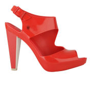 Melissa Women's Estrelicia Heeled Sandals - Red