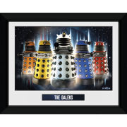 "Doctor Who Daleks - 8"""" x 6"""" Framed Photographic"