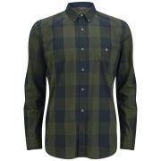 French Connection Men's Raven Lifeline Long Sleeved Shirt - Big Check