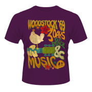 Woodstock Men's T-Shirt - Poster