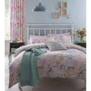 Vintage Collage Bedding Set - Multi