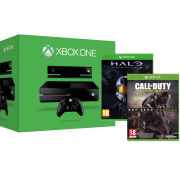 Xbox One Console with Kinect - Includes Halo: Master Chief Collection & Call of Duty: Advanced Warfare