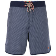 Ted Baker Corgie Small Dogtooth Side Swim Short Dark Blue