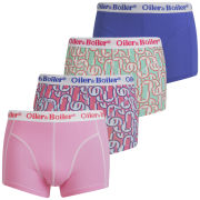 Oiler & Boiler Men's 4-Pack Print Boxers - Europe
