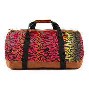 Mi-Pac Hot Zebra Print Duffel Bag - Rainbow