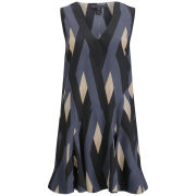 Marc by Marc Jacobs Women's Sleeveless Dress - Black Multi
