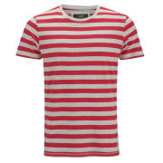 Jack & Jones Men's Owen T-Shirt - White/Red