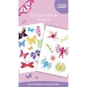 Fairies / Butterflies And Fairies - Tattoo Pack