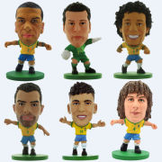 SoccerStarz - Brazil Team Player Figures