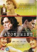 Atonement/Pride And Prejudice/Sense And Sensibility [Stbk]